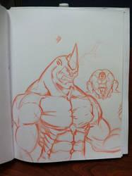 Rhino(Hulk poopy) by yocoro