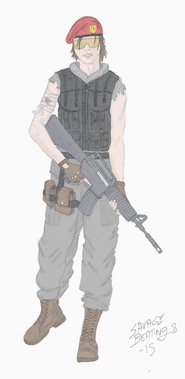 Soldier Ash Harding by SavageBeatings