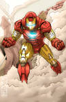 Iron Man Stays in the Fight by THExEVILxTW1N
