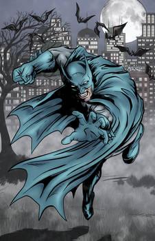 Batman Reaching