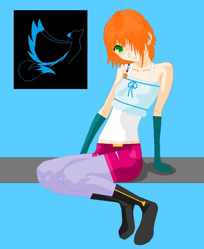 RWBY OC: Anna by ItaliniX