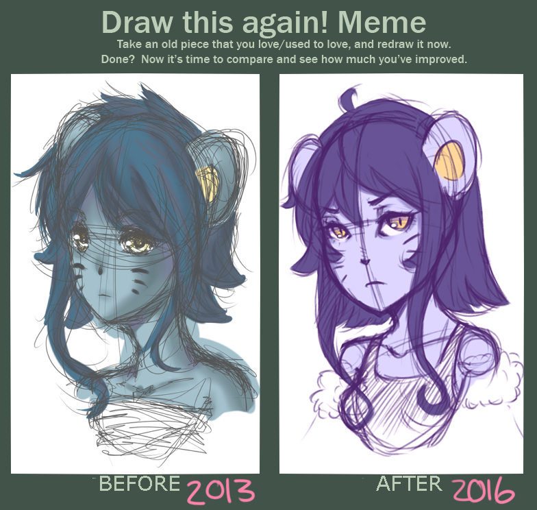 Draw this again Meme by AlanaSupernova