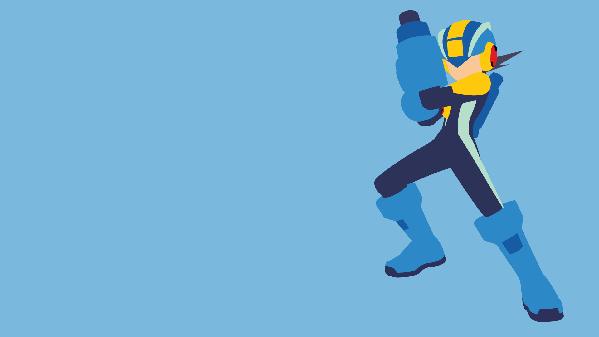 mega man battle network wallpaper by