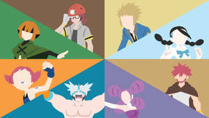 Sinnoh Gym Leader Comp.