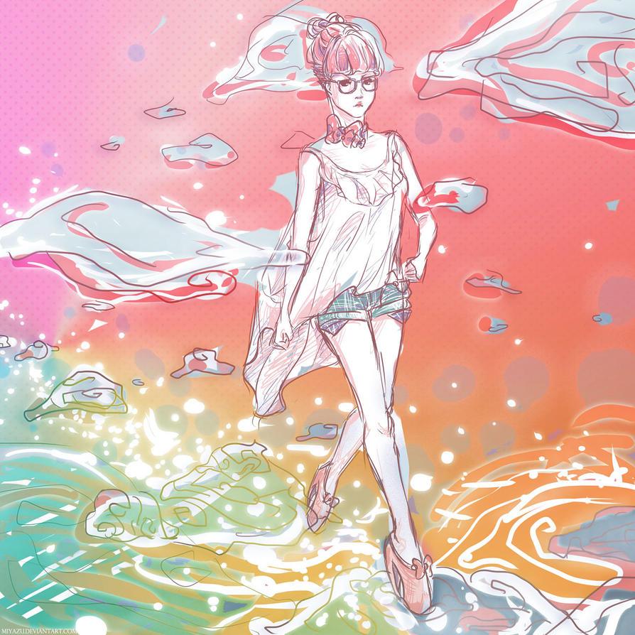 Bedazzled Rain Bows by Miyazu