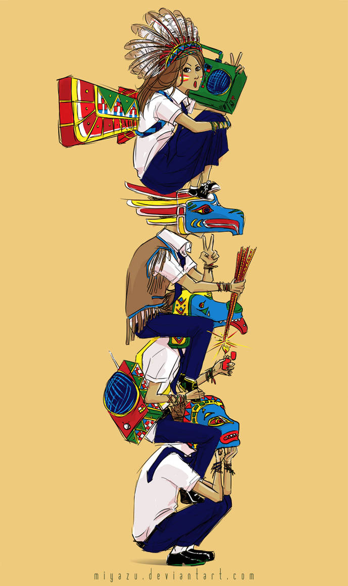 The human totem