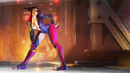 Juri Han's Uncensored Outfit SFV