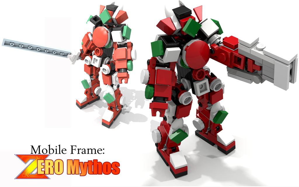 Mobile Frame: Zero Mythos by ArusiaSotto on DeviantArt