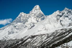 Mountain Everest Nepal Himalaya 9 by bouzid27