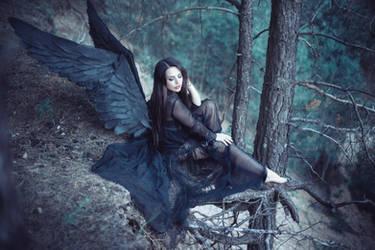 Black angel 3 by bouzid27