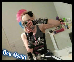 Visual Kei JRock Hair Fashion Fan BouOsaki Screw