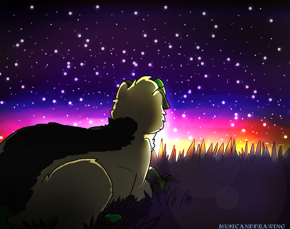 I Followed your Ashes into Outer space by musicanddrawing