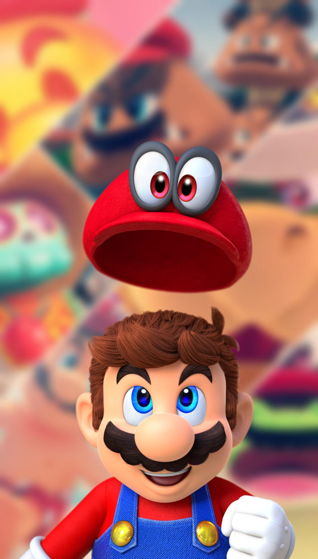 Super Mario Odyssey Wallpaper By Therealezrith On Deviantart