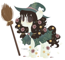 flower witch by FIoweress