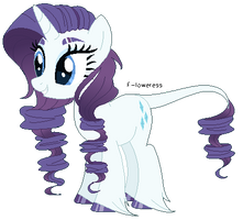 [redesign] rarity by FIoweress