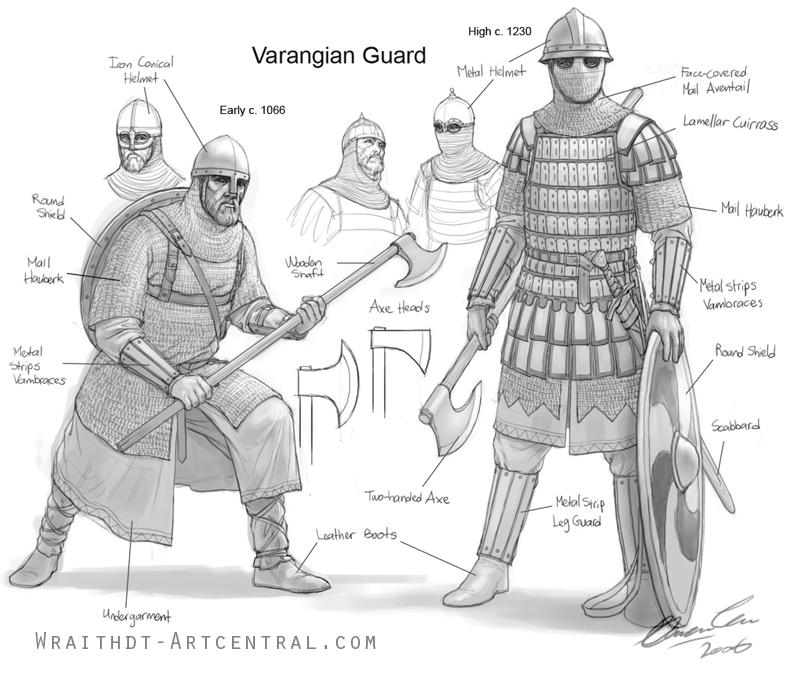 Varangian Guard design by Magetathelion