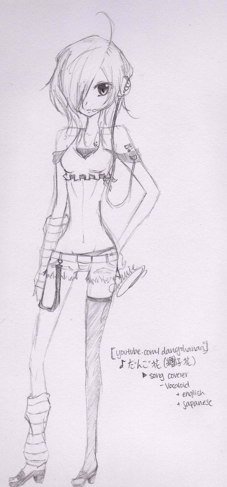 DangoHanaa Alias - Uncolored by anniecheng09