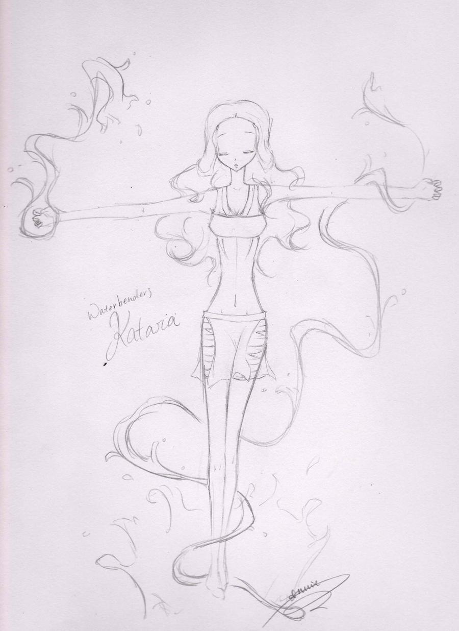 Katara Sketch 01 by anniecheng09