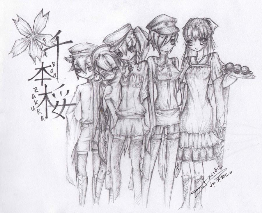 VOCALOID - SenbonZakura by anniecheng09