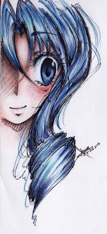 Them Blue Eyes by anniecheng09