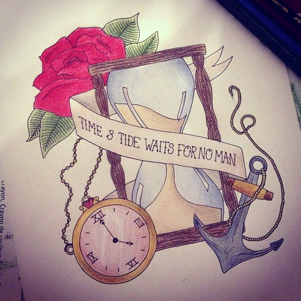 time and tide waits for no man by megansmith495 on deviantart