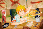 The world will wait: Naruto eats the food of Gods!