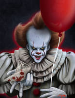 Pennywise the dancing clown by dropkickkiddo