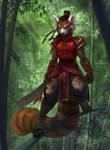 Bamboo Warrior