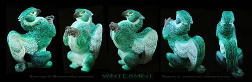 Wintermint Griffin by EchoesLight