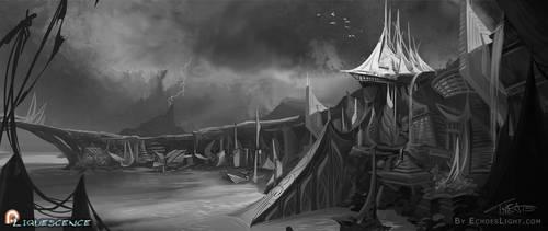 Liquessence - City of Verdiae by EchoesLight