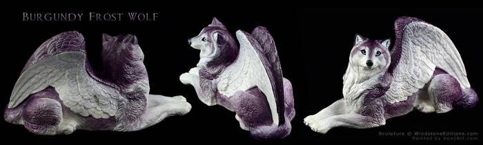 Burgundy Frost Wolf