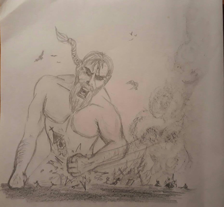 Giant's wrath by Sevenkat