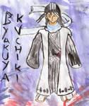 Byakuya Kuchiki watercolour