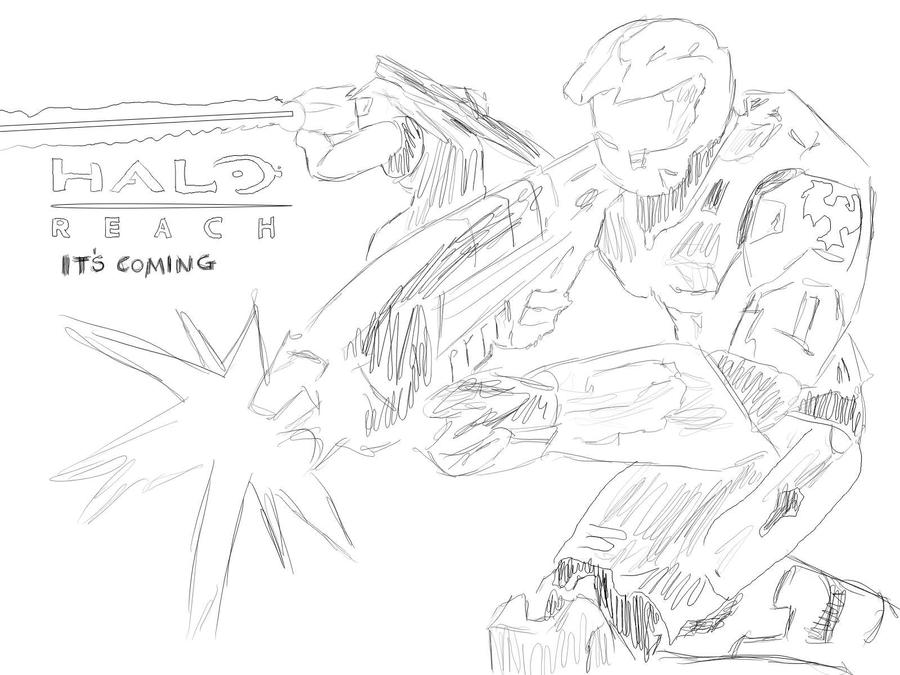 The gallery for --> How To Draw Halo Reach Weapons