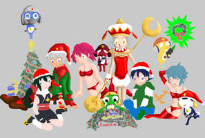 Sgt Frog Christmas WIP 2