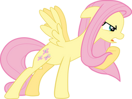 Protective Fluttershy Vector by Neighthirst