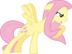 Protective Fluttershy Vector
