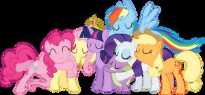 Group Hug Vector
