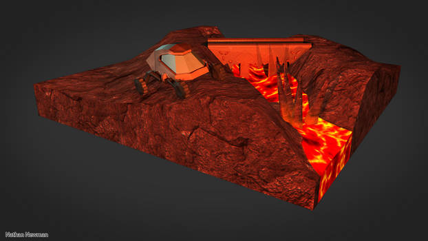 Volcanic Scene Model