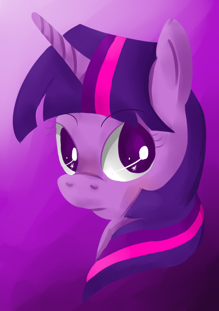Twilight Sparkle Painted by Neighthirst