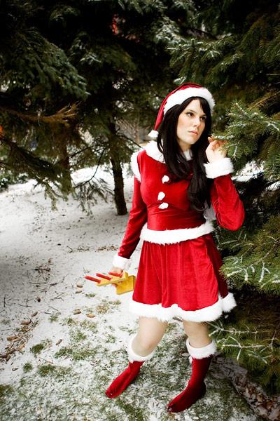 Christmas Rei Hino by gillykins