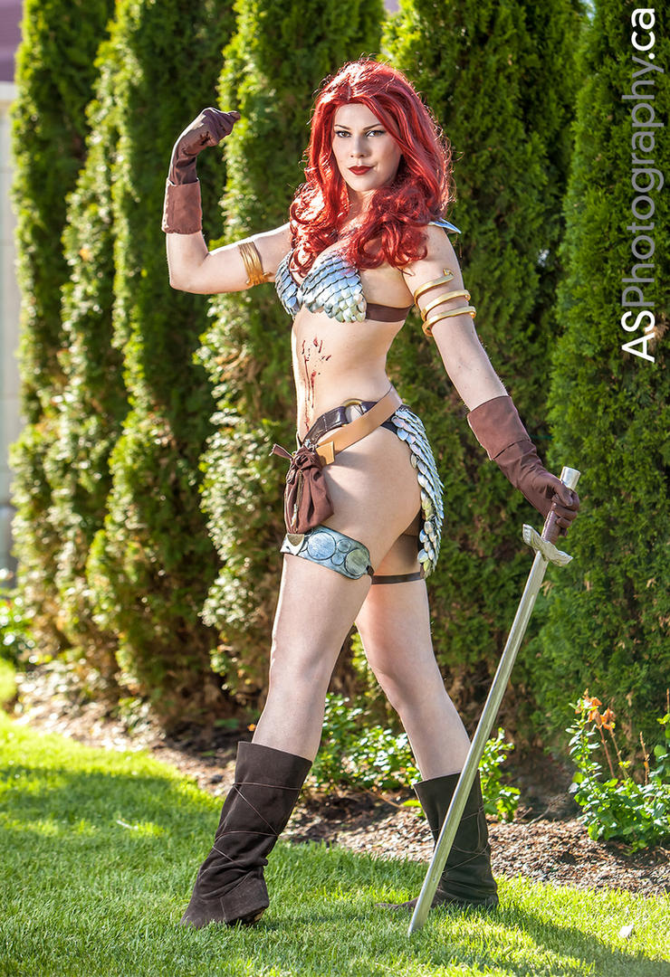 Red Sonja by gillykins