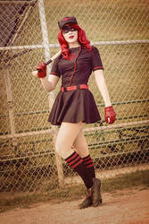 Bombshell Batwoman by gillykins