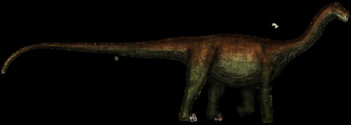 Saltasaurus loricatus (version 1: osteoderm free)
