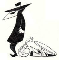 Spy vs. Spy Doodle