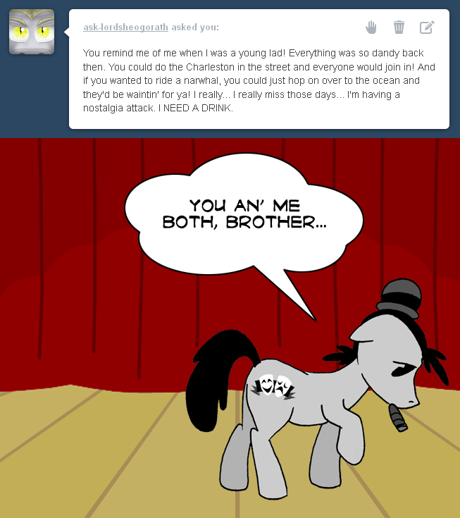 Ask Vaudeville 102 by FractiousLemon