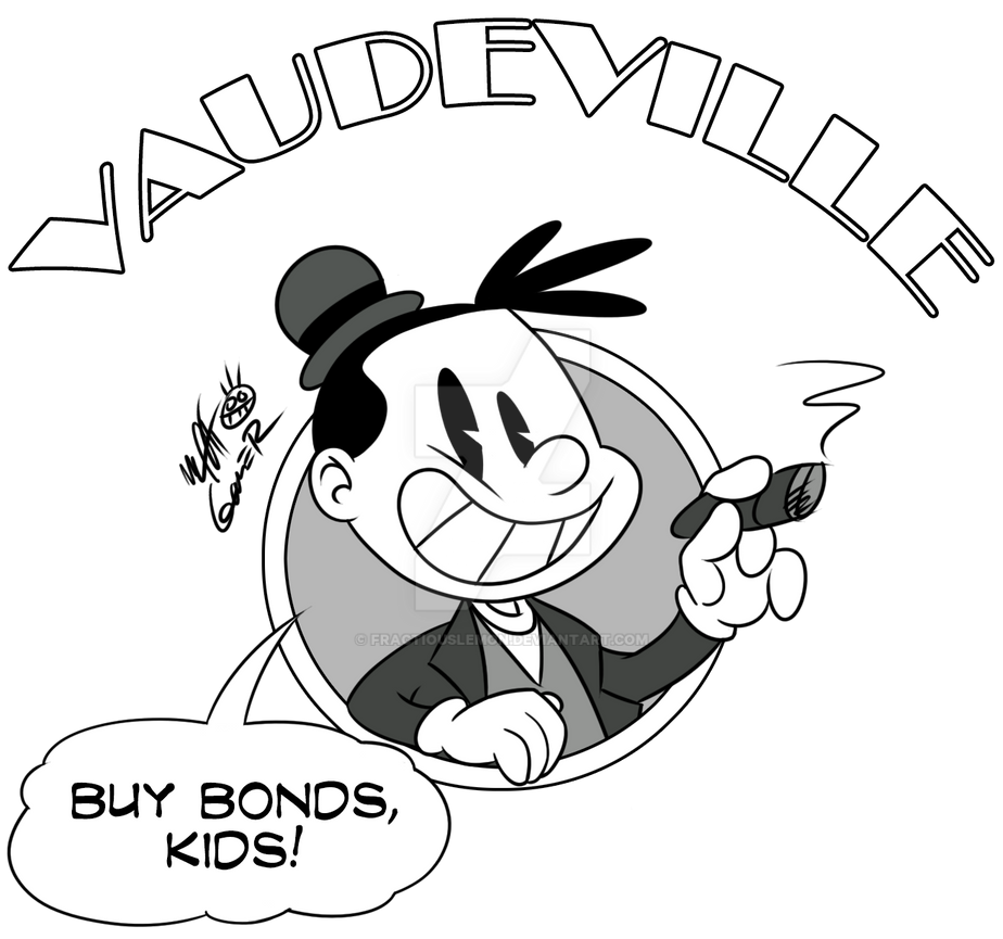 Vaudeville Shirt: ''Buy Bonds!'' by FractiousLemon