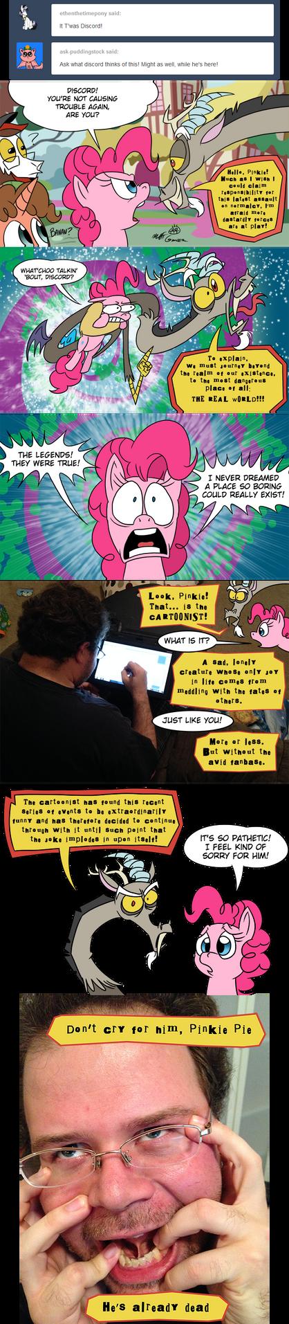 Dear Pinkie Pie 27 by FractiousLemon