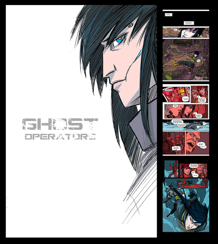 Ghost Operators Preview Thing by PumaDriftCat