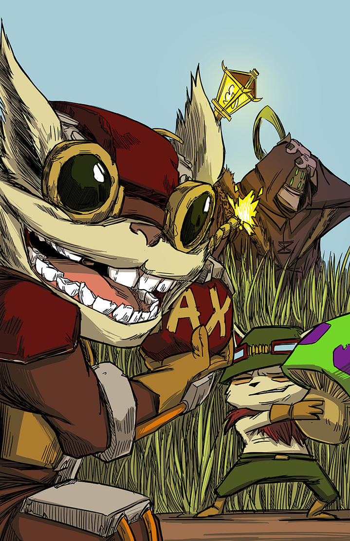 Yordle Surprise by PumaDriftCat